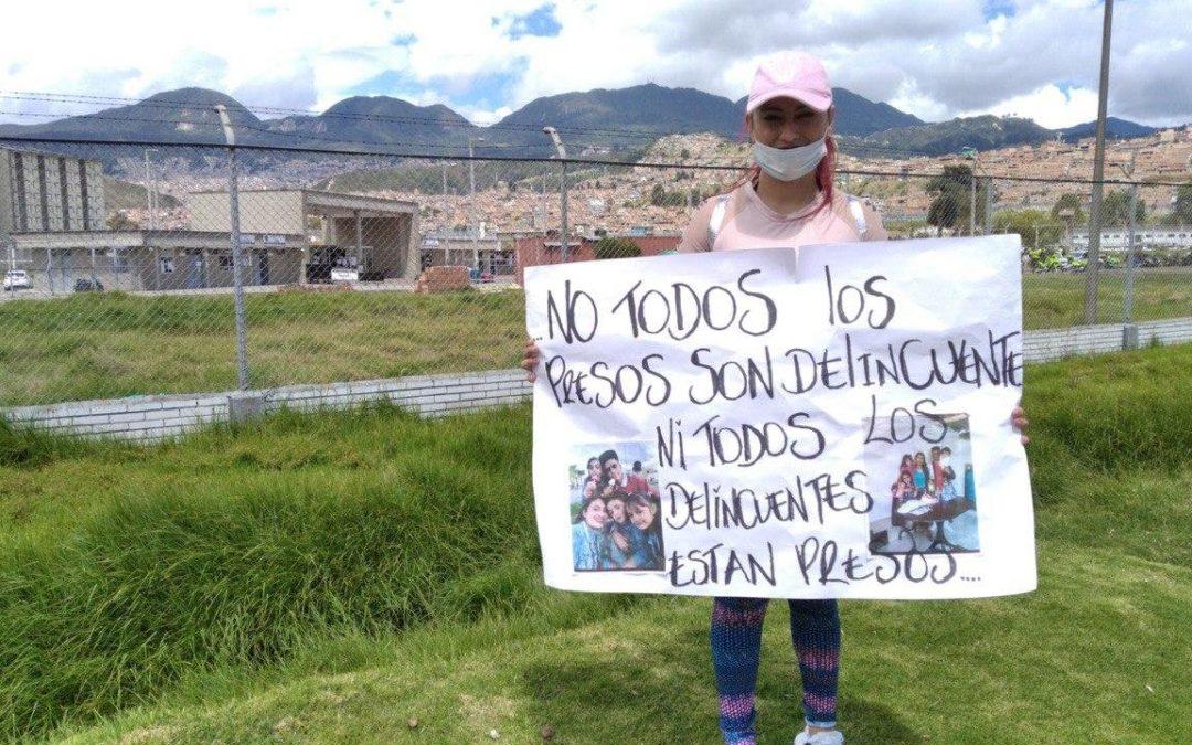 Derrière les barreaux sous le coronavirus en Colombie