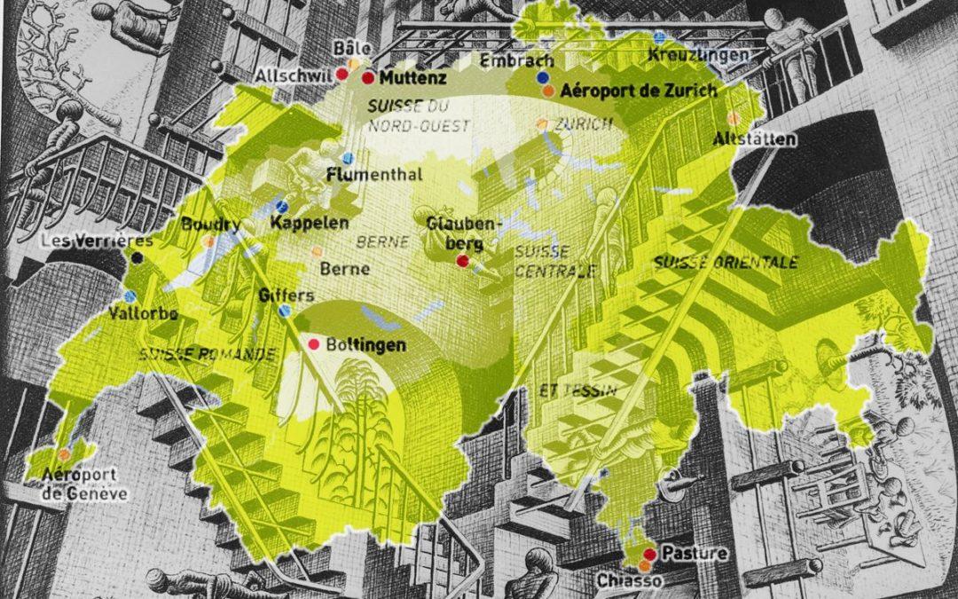 Parcours dans les centres fédéraux pour requérantEs d'asile en Suisse